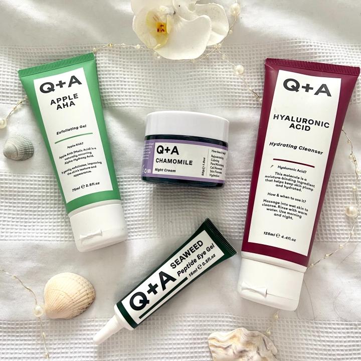 Q+A Skincare Review!